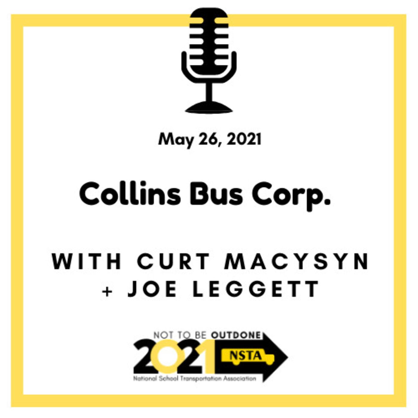 Joe Leggett, Director of Sales - Aftermarket Parts, Collins Bus Corp.