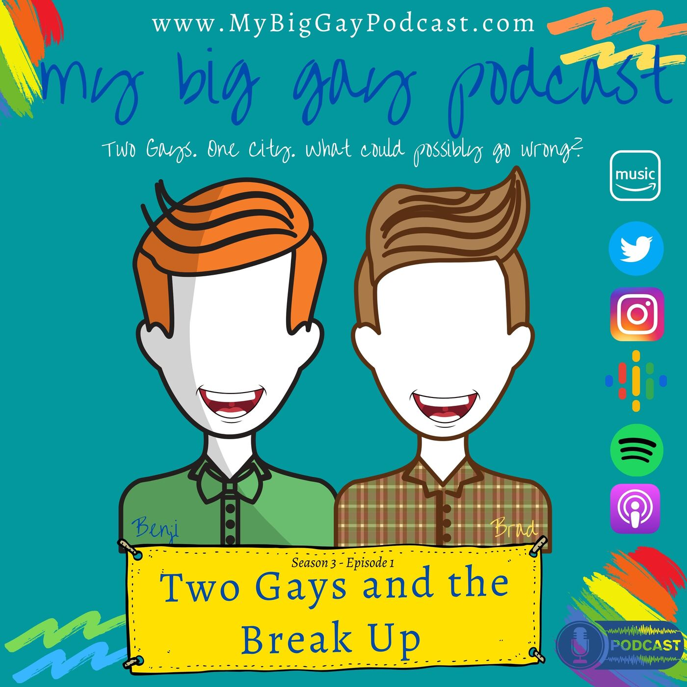 S3. Ep1. Two Gays and the Break Up