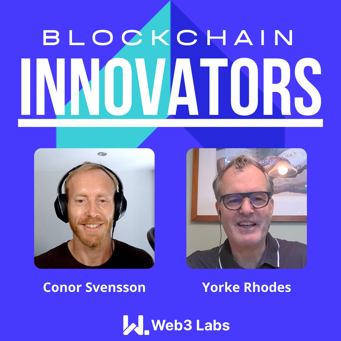 Blockchain Innovators - Conor Svensson and Yorke Rhodes