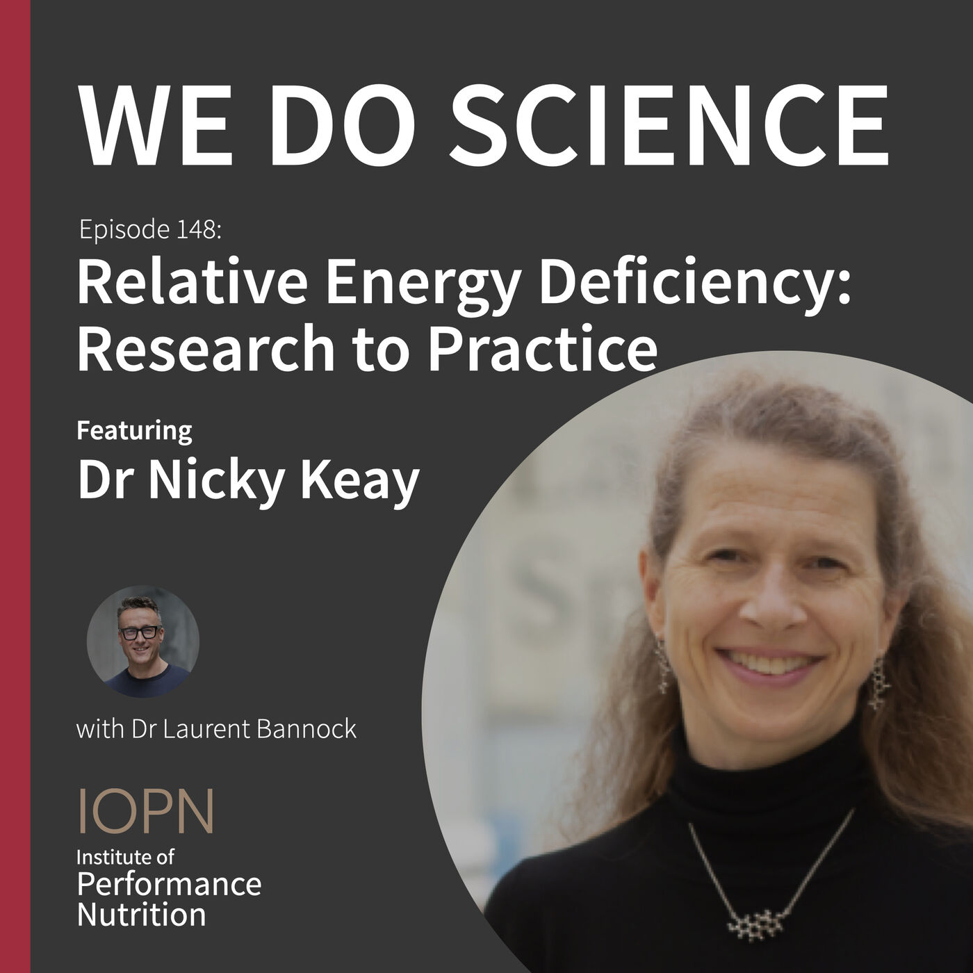 """""""Relative Energy Deficiency: Research to Practice"""" with Dr Nicky Keay"""