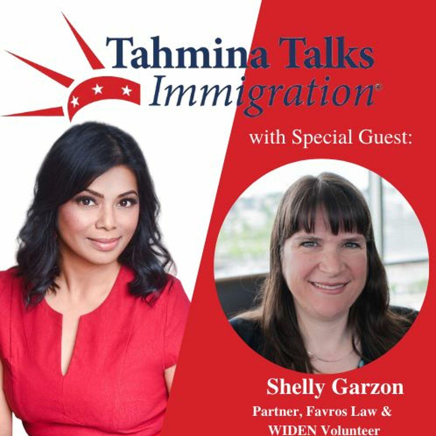 #108 Legal Heroes Series- Shelly Garzon, Partner, Favros Law & WIDEN Volunteer