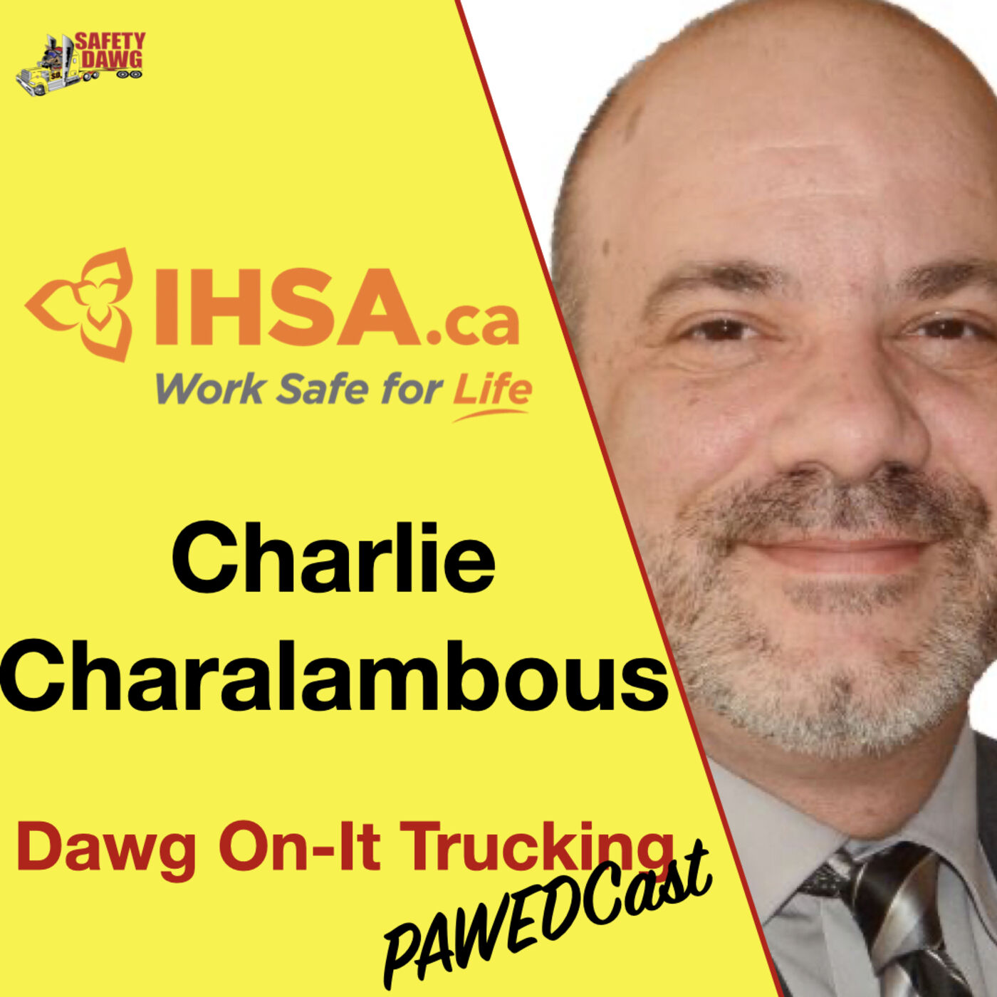 19. Charlie Charalambous of the IHSA (Infrastructure Health & Safety Association)