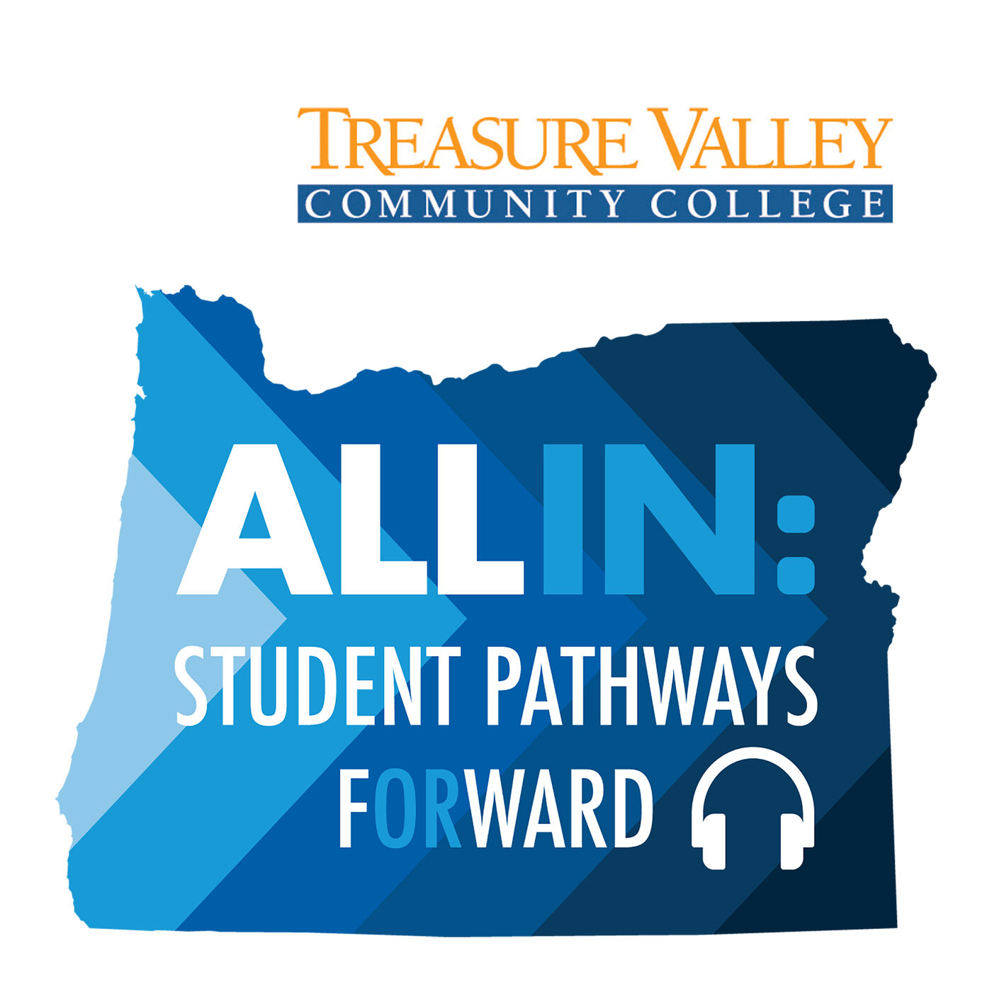Treasure Valley Community College - Student James Toms & President Dr. Dana Young; Partners for a Hunger-Free Oregon Policy Advocate Chloe Eberhardt