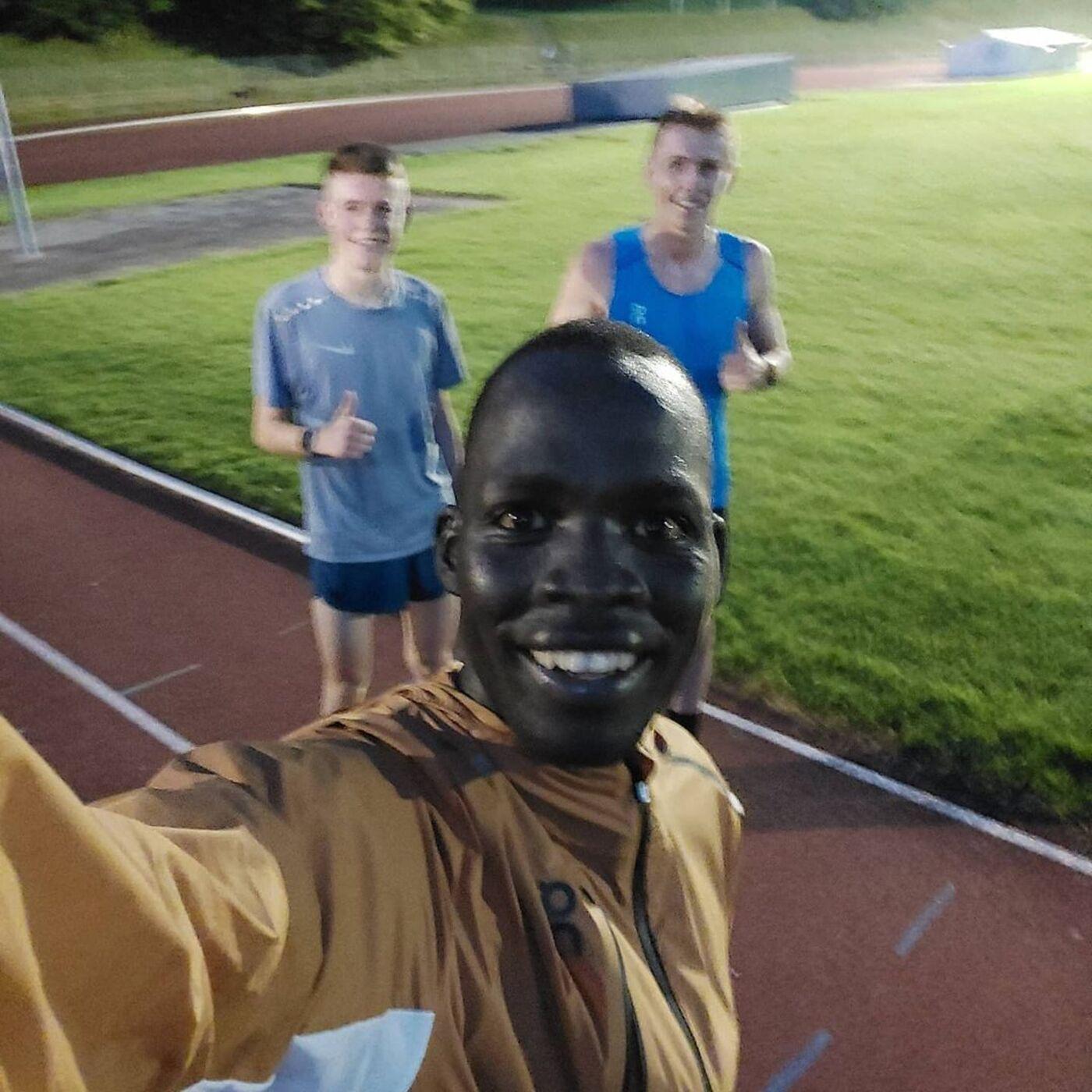 Ep 276 - Swiss Refugee Runner Dominic Lokinyomo Lobalu with Margus Hagmann