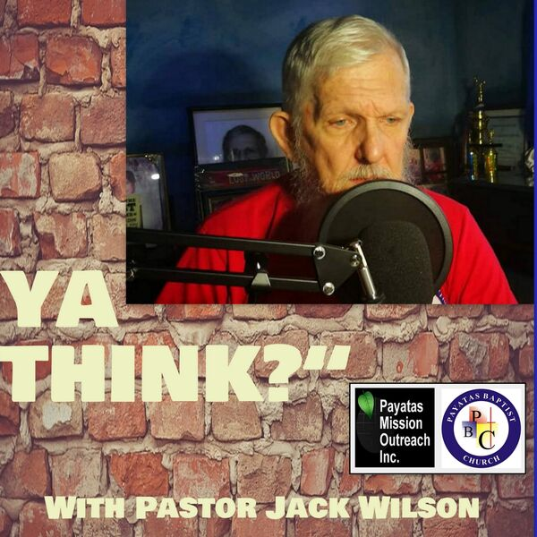 """Ya Think?"" Podcast Artwork Image"