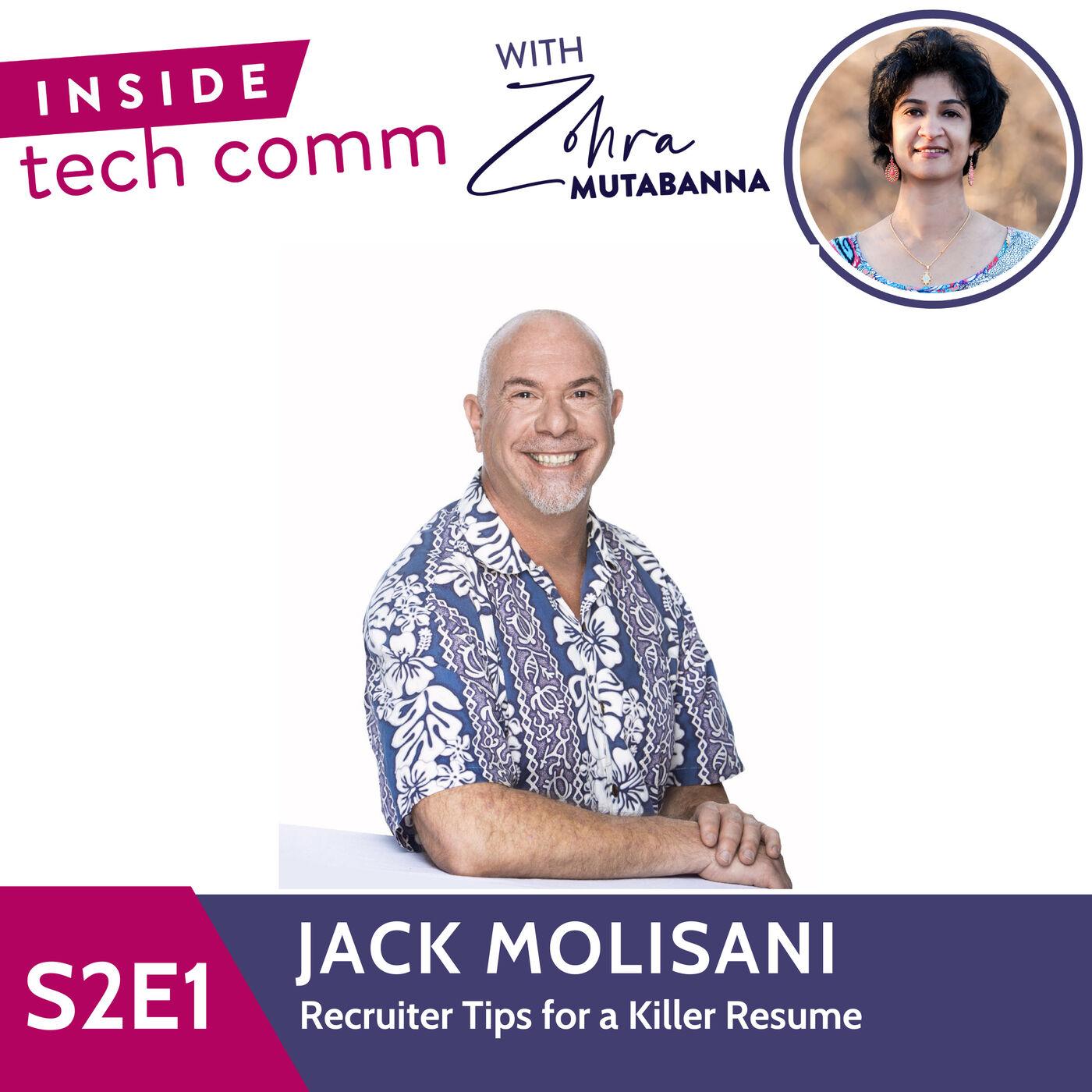 S2E1 Recruiter Tips for a Killer Resume with Jack Molisani