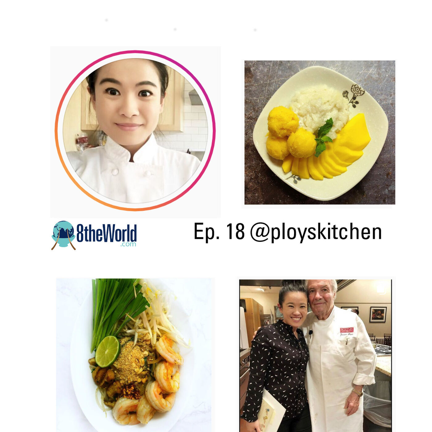 Ep 18. PloysKitchen - Thai Cooking, Street Food, and Learning to Cook Online