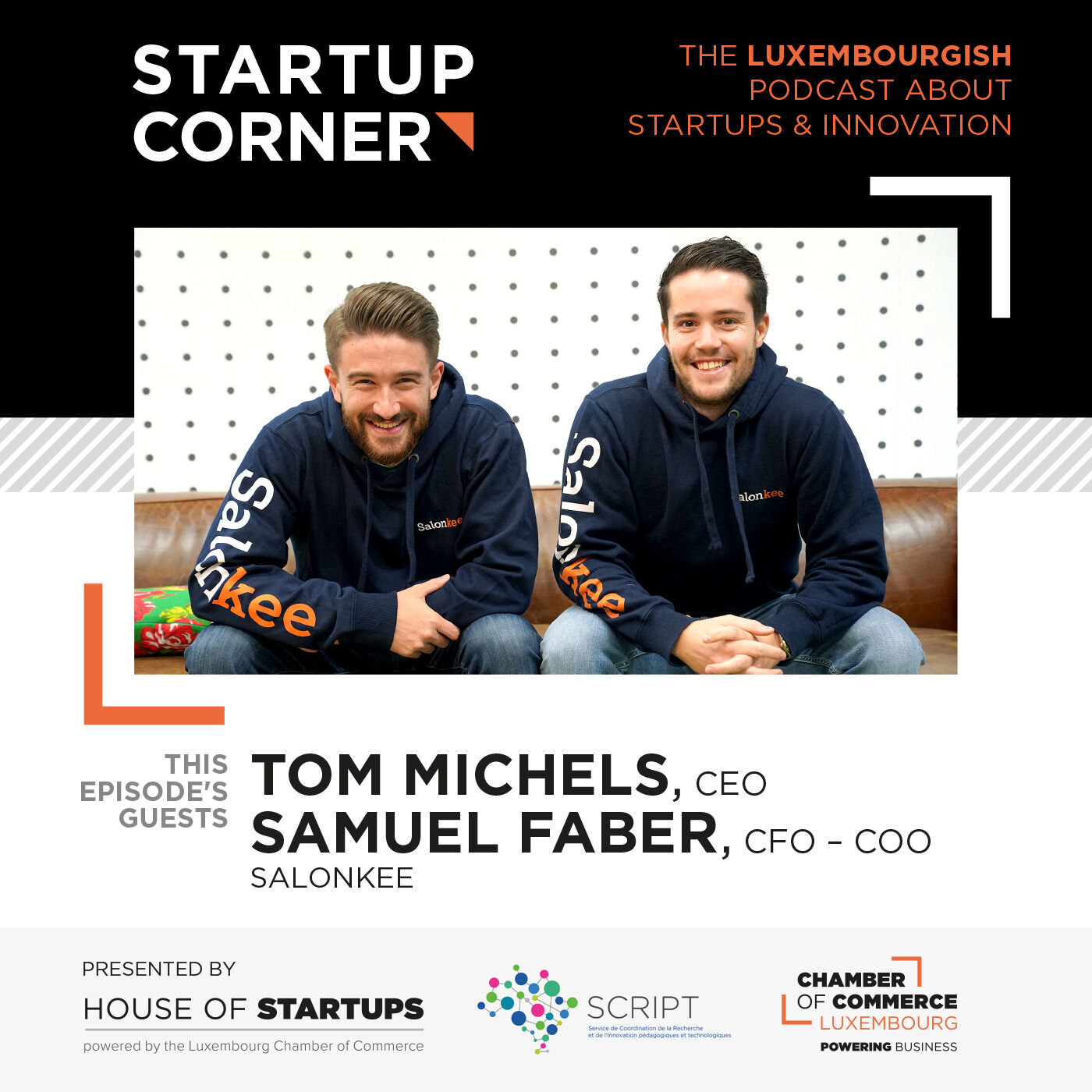 Startup Corner - Tom Michels & Samuel Faber - Salonkee