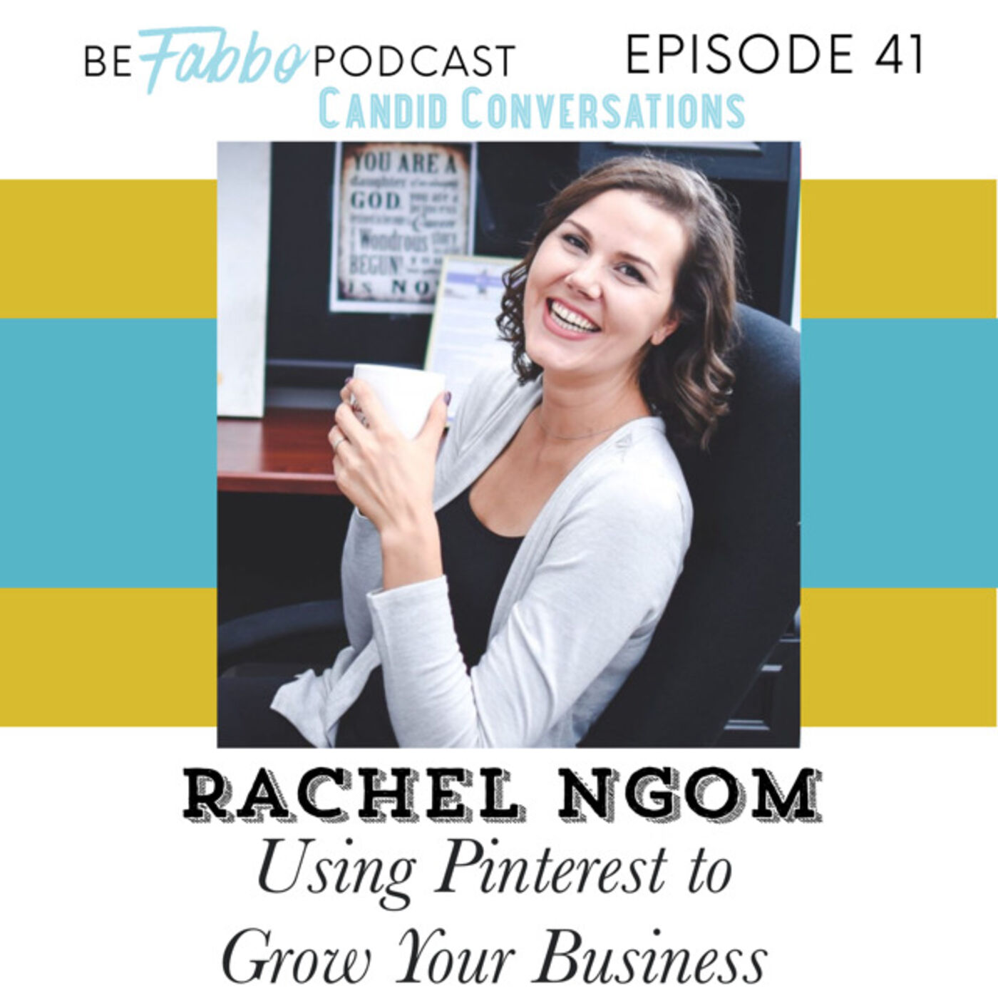 41: Using Pinterest to Grow Your Business- Rachel Ngom