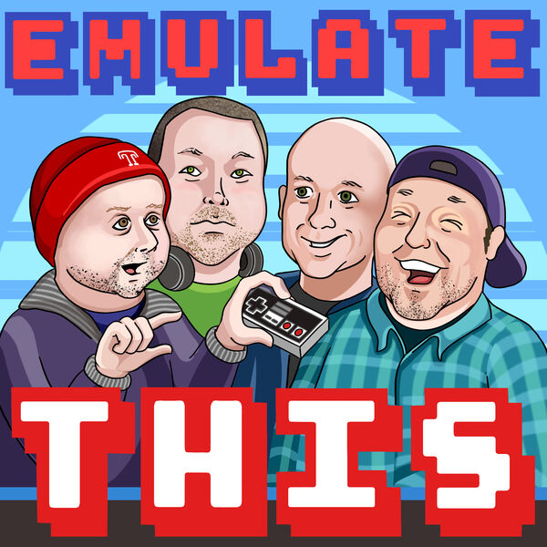 Emulate This; Retro Gaming Exploration Podcast Artwork Image