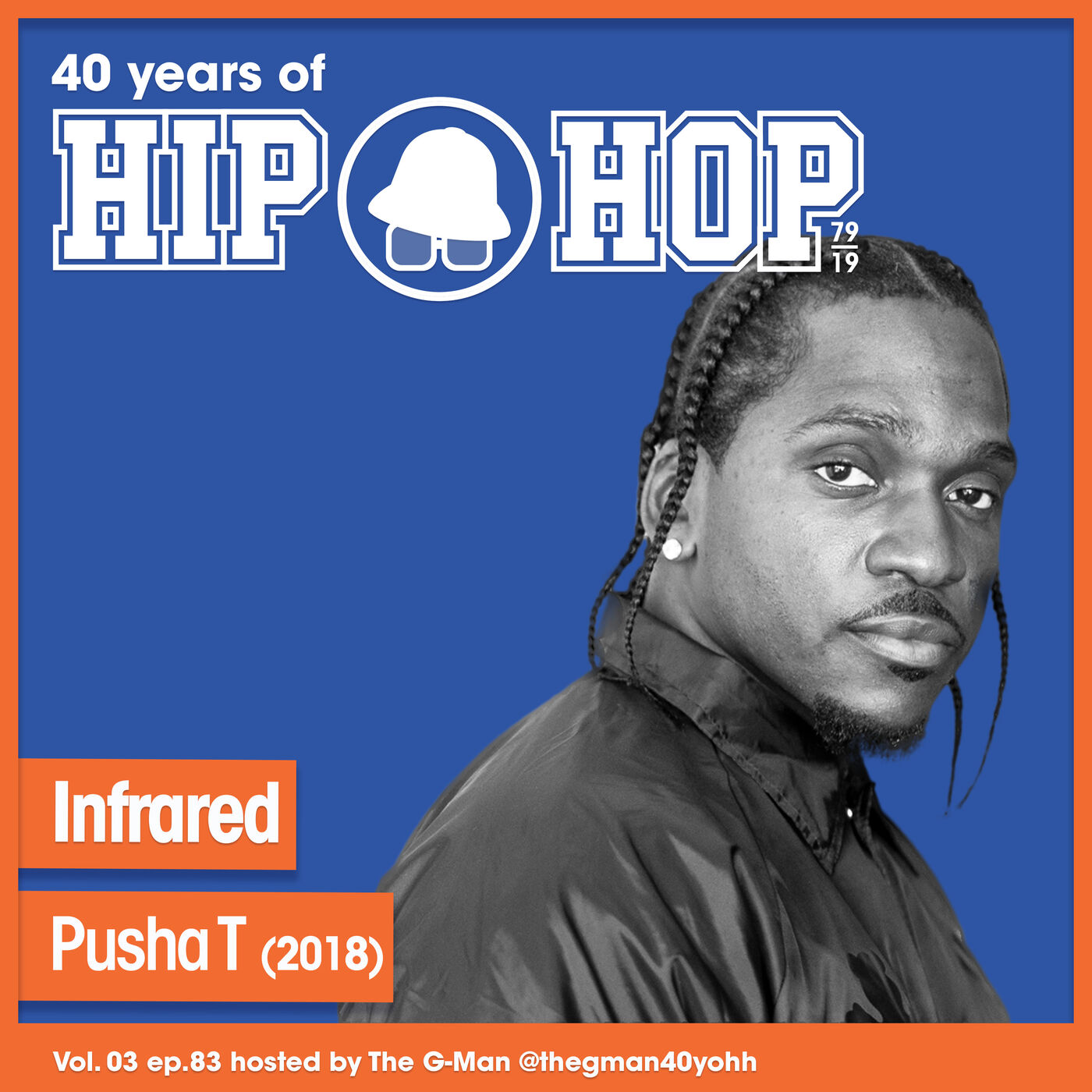 Vol.03 E83 - Infrared by Pusha T released in 2018 - 40 Years of Hip Hop