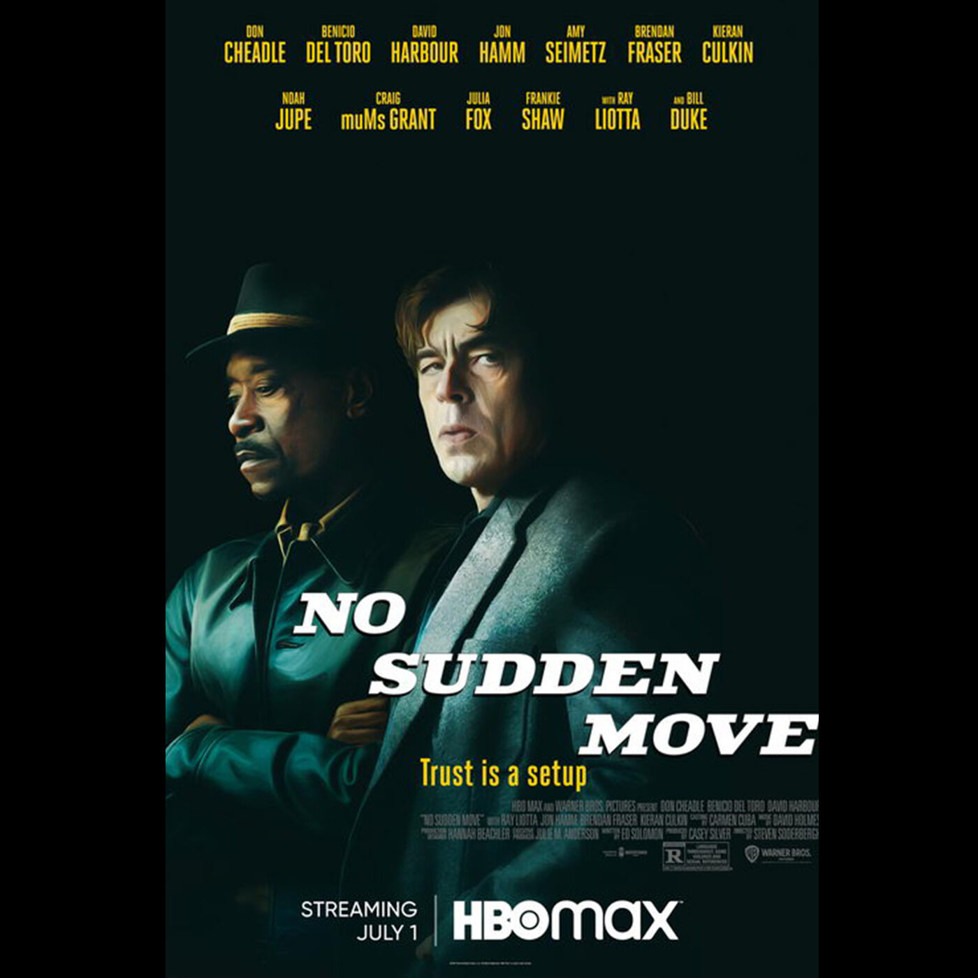 Episode 42: No Sudden Move and Top 5 Heist Movies of all time