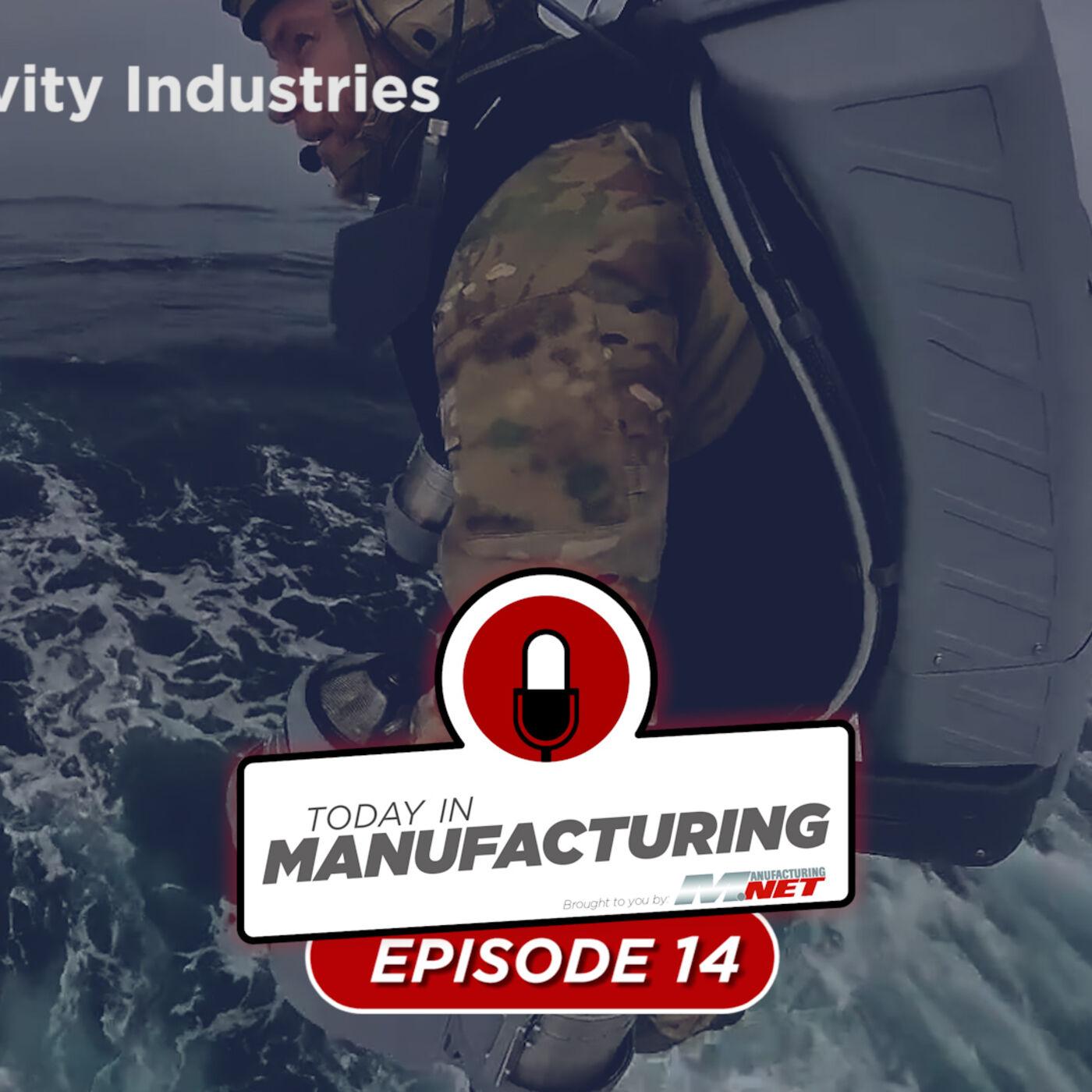 Jet Suit Impresses, Screw Causes Ship Crash, Tesla Solves Hate Crime | Today in Manufacturing Ep. 14