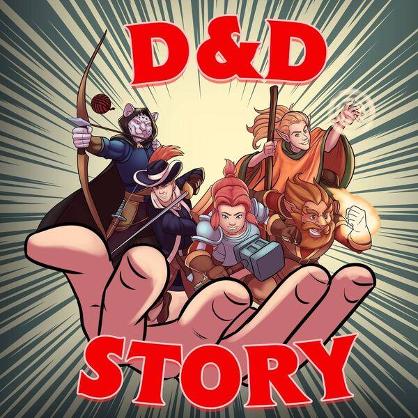 A D&D Story Podcast Artwork Image
