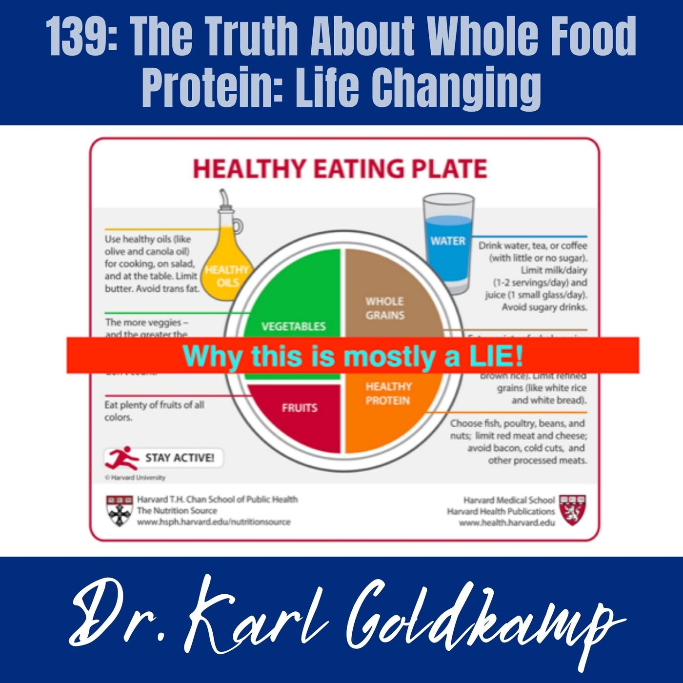 139: The Truth About Whole Food Protein: Life Changing