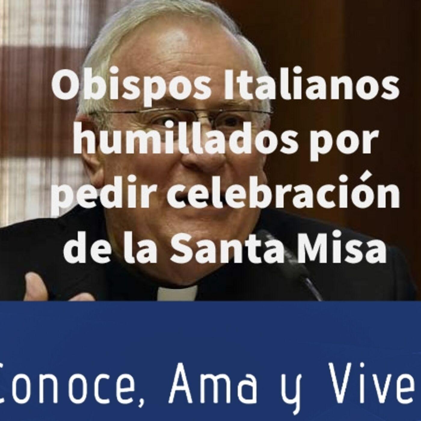 Episodio 248: 😲 Obispos Italianos humillados por pedir celebración de la Santa Misa ✝️ Reapertura de iglesias