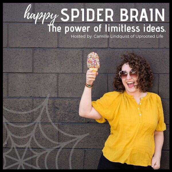Happy Spider Brain Podcast Artwork Image