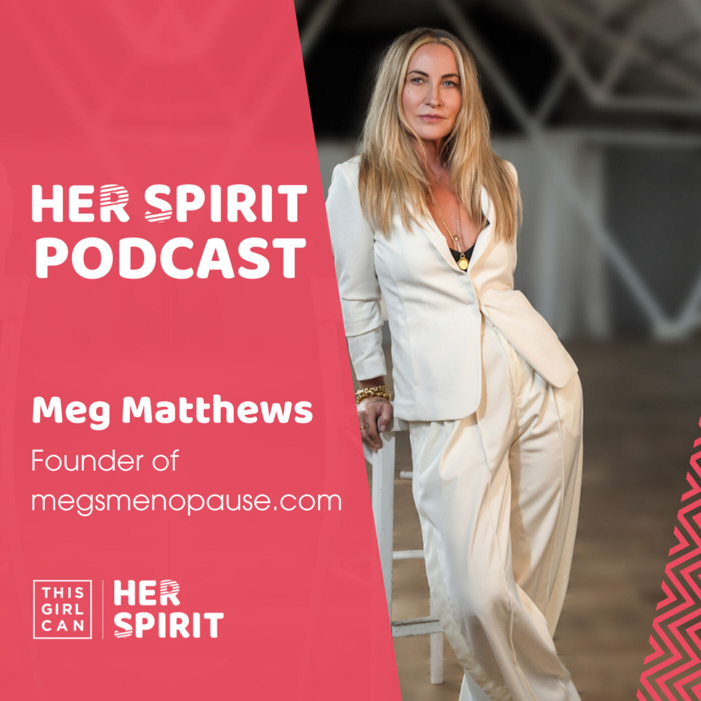 Meg Matthews talks to Annie and Louise about the 80's & 90's Brit Pop scene, her love of cold water swimming and how it helps her anxiety levels and overall wellbeing, and her menopause journey