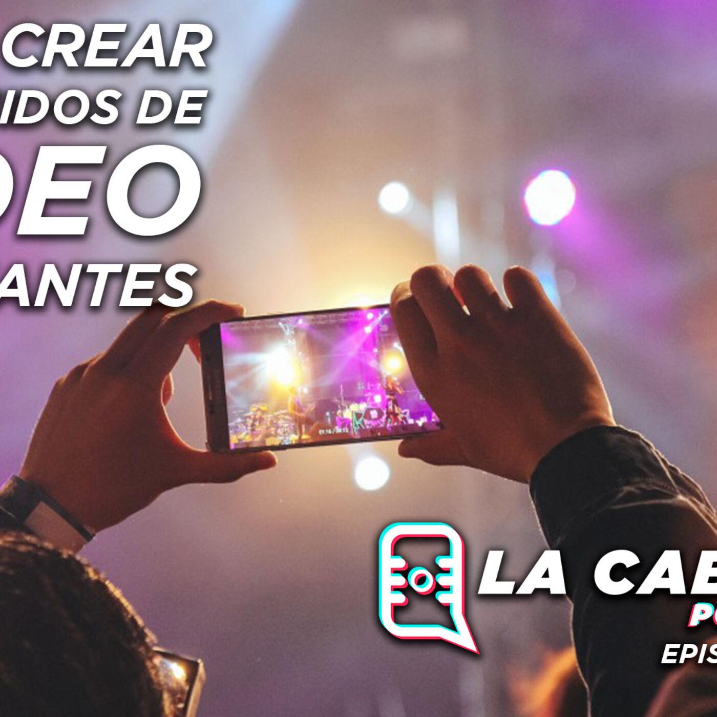 "Podcast ""La Cabina"" Episodio 14 – Como crear contenidos de video relevantes"