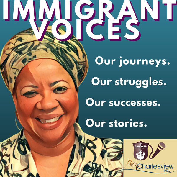 Immigrant Voices Podcast Project Podcast Artwork Image
