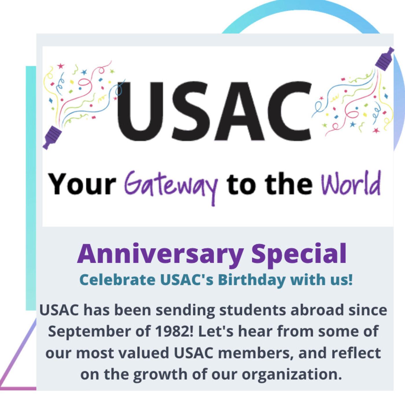 Season 3, Ep. 5 - Special Edition: USAC Turns 39!