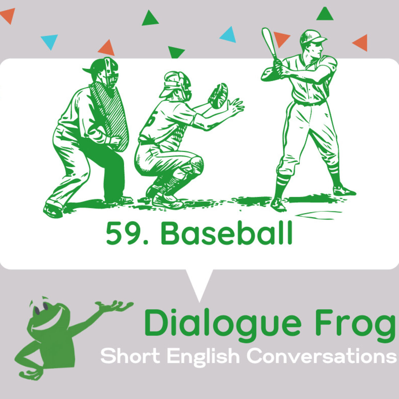059 Baseball – Short Dialogues in English