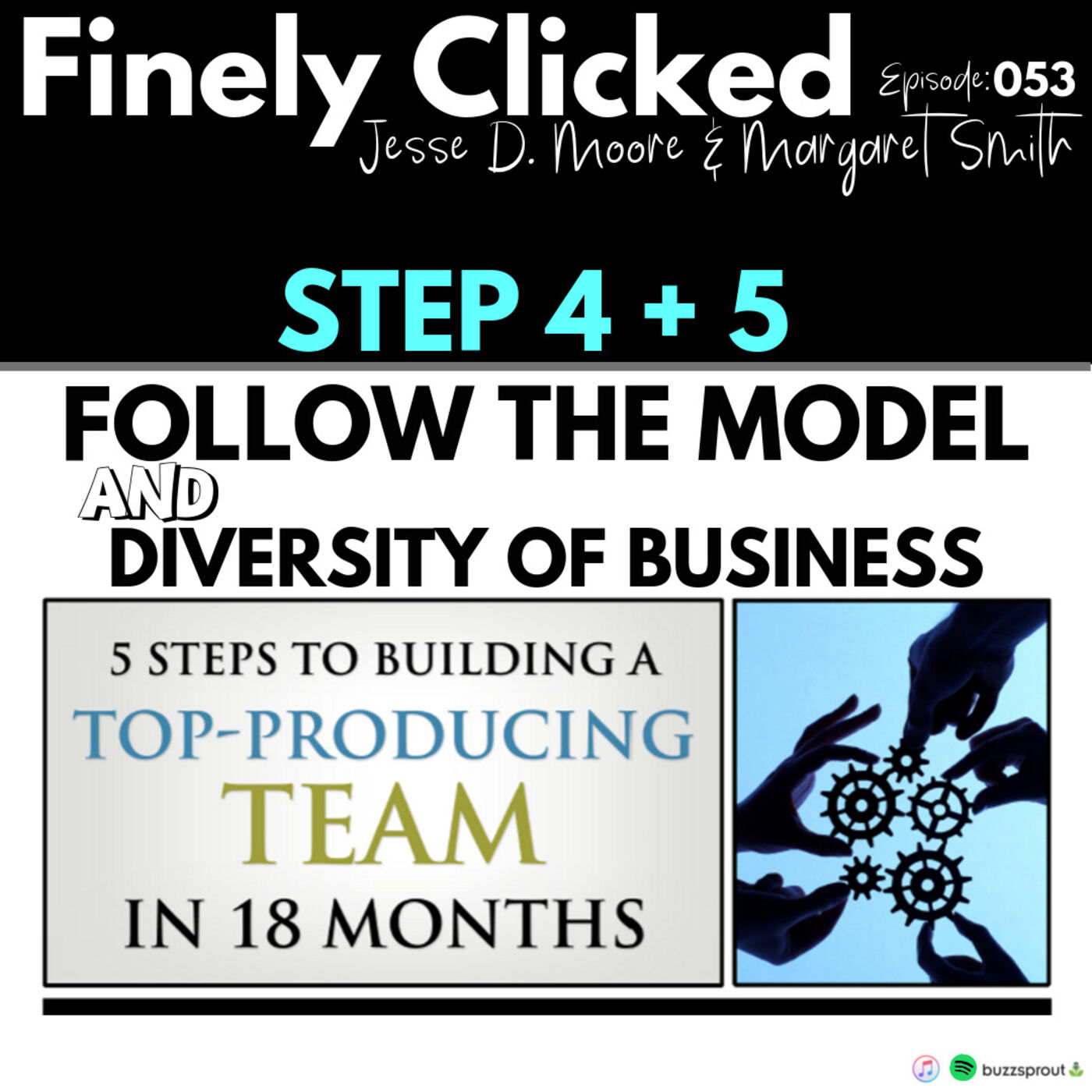 Episode 53: Steps 4 & 5: Follow The Model & Diversity of Business