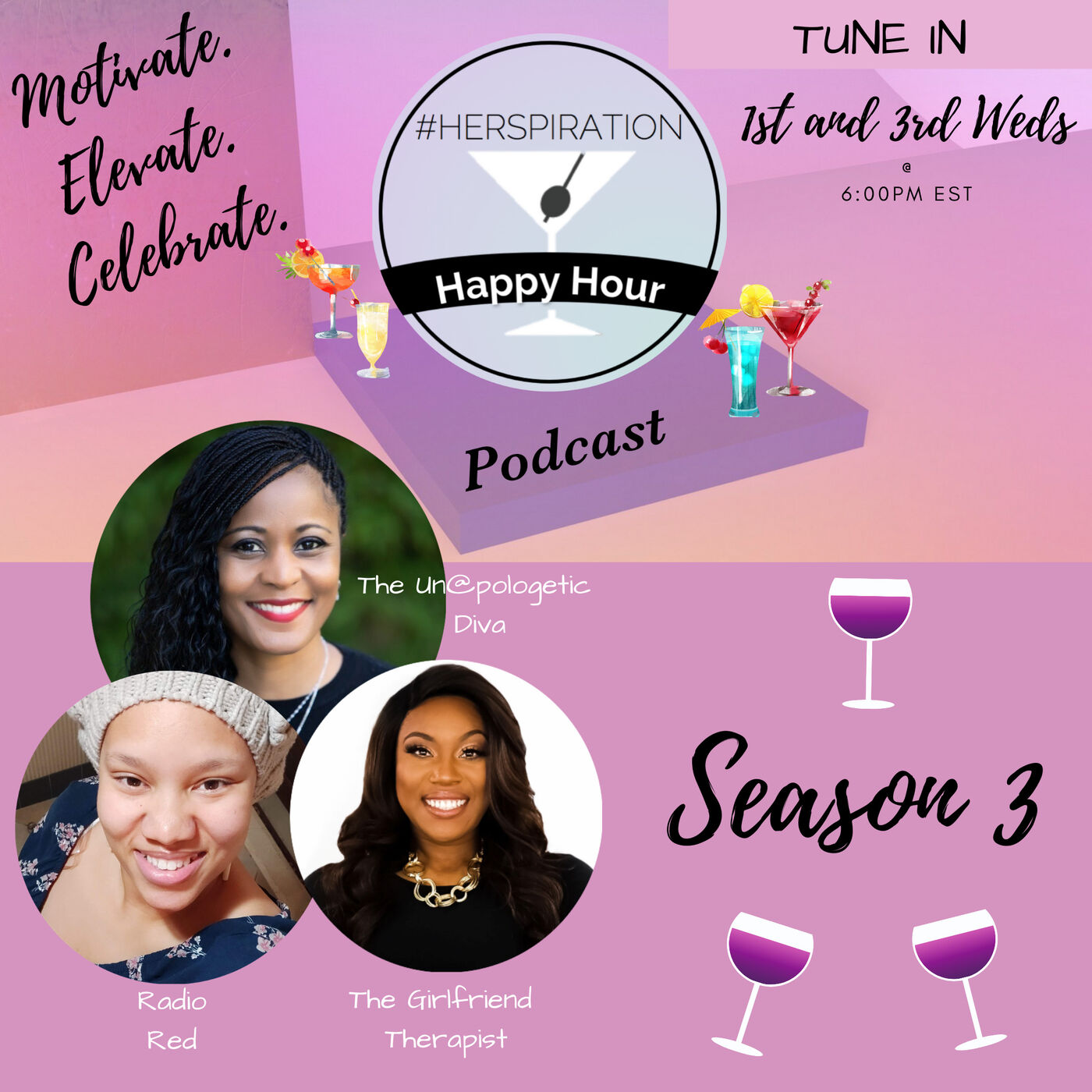 Herspiration Happy Hour Season 3, Episode 11, Does SiZe Matter?
