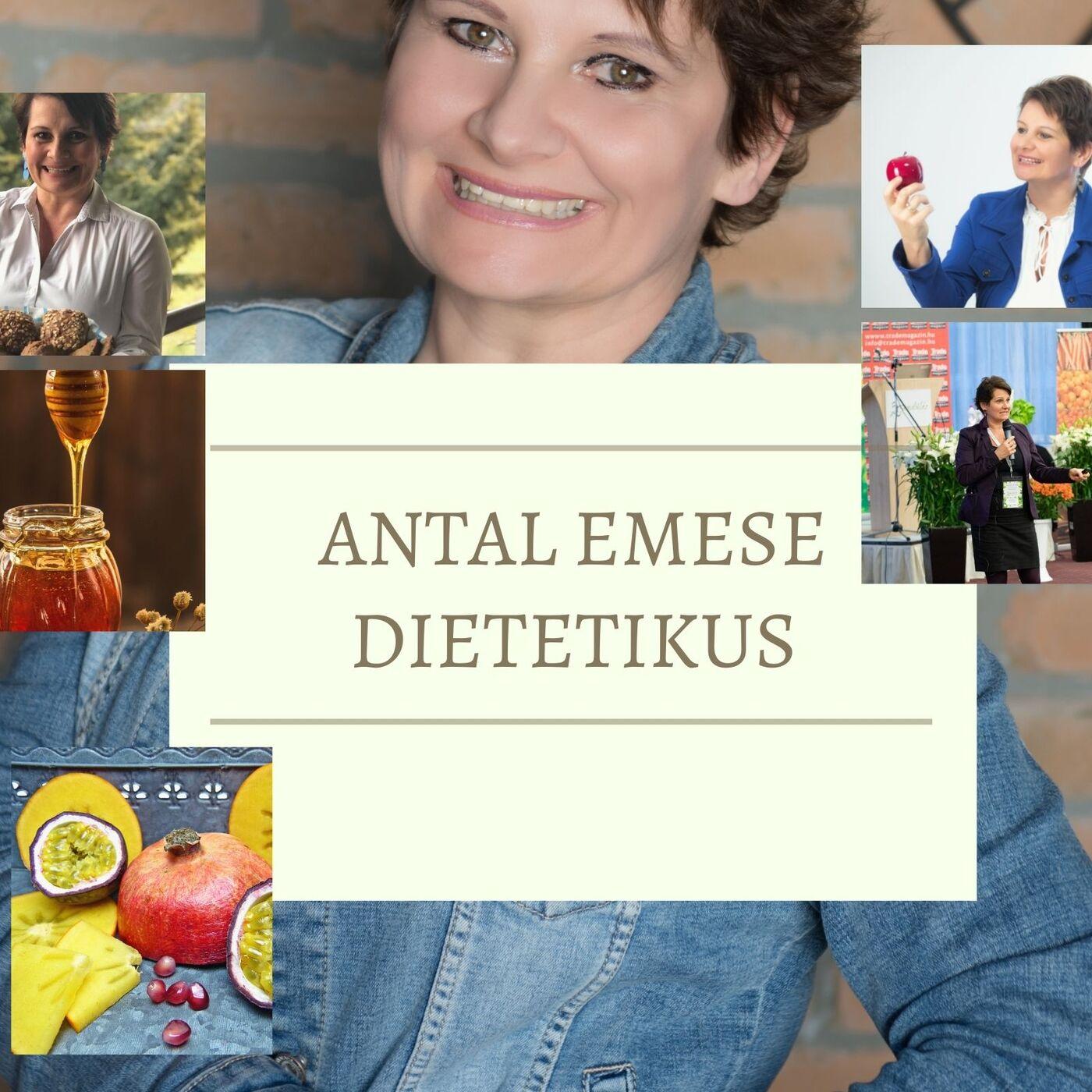 Antal Emese dietetikus