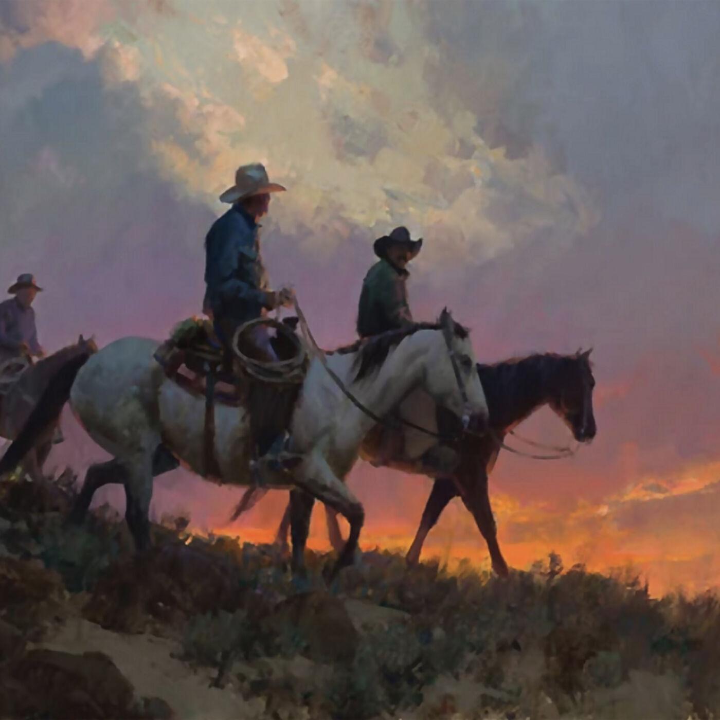 Bill Anton: Cowboy and Landscape Painter - Epi. 143, Host Dr. Mark Sublette