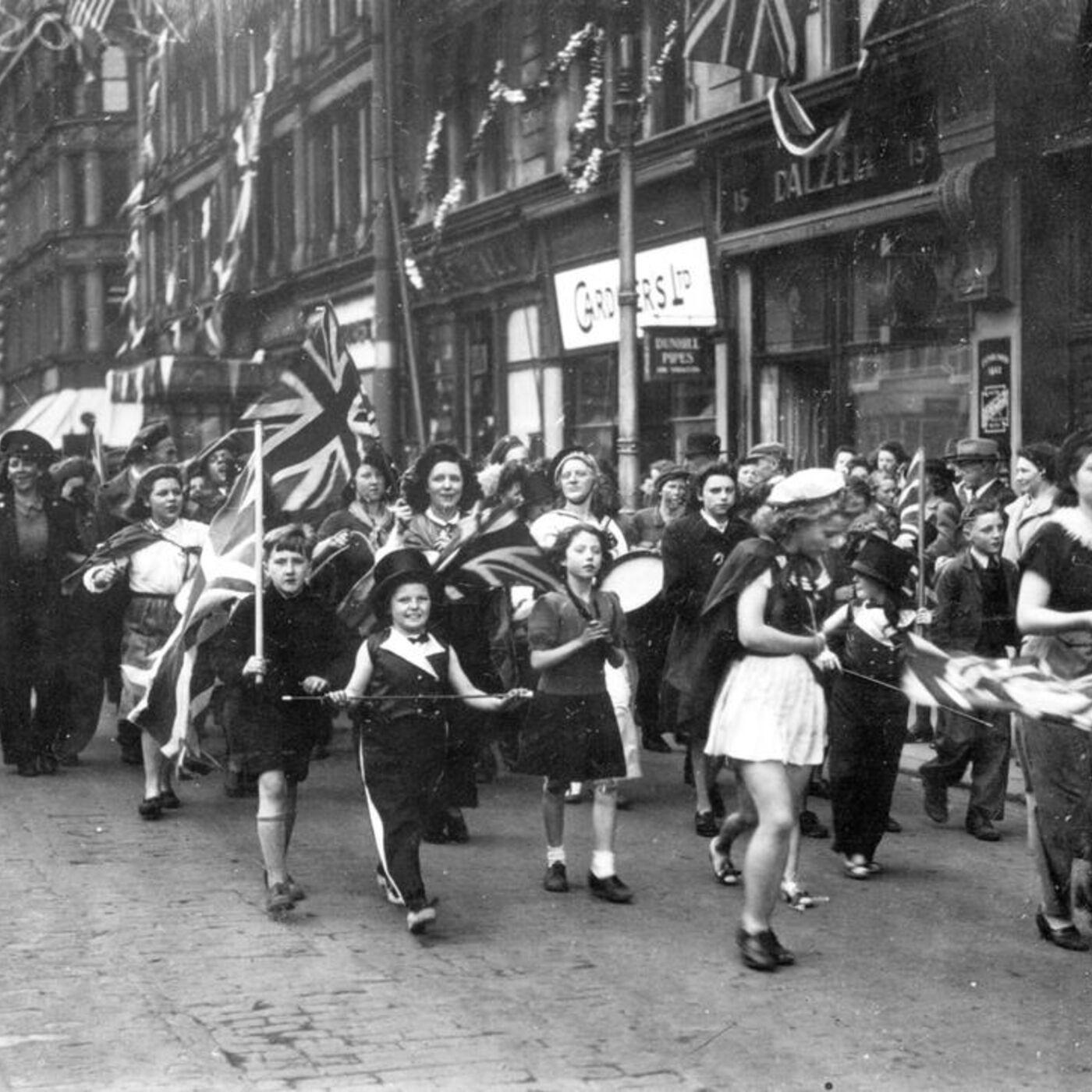 VE Day in Belfast 1945