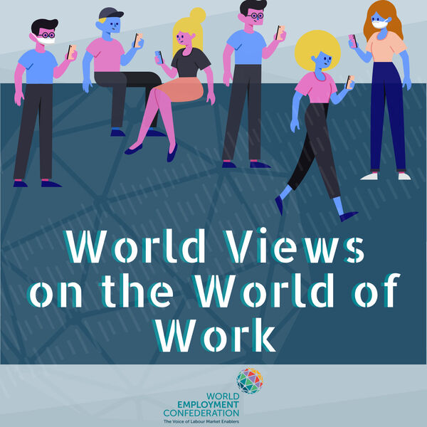 WEC - World Views on the World of Work  Podcast Artwork Image