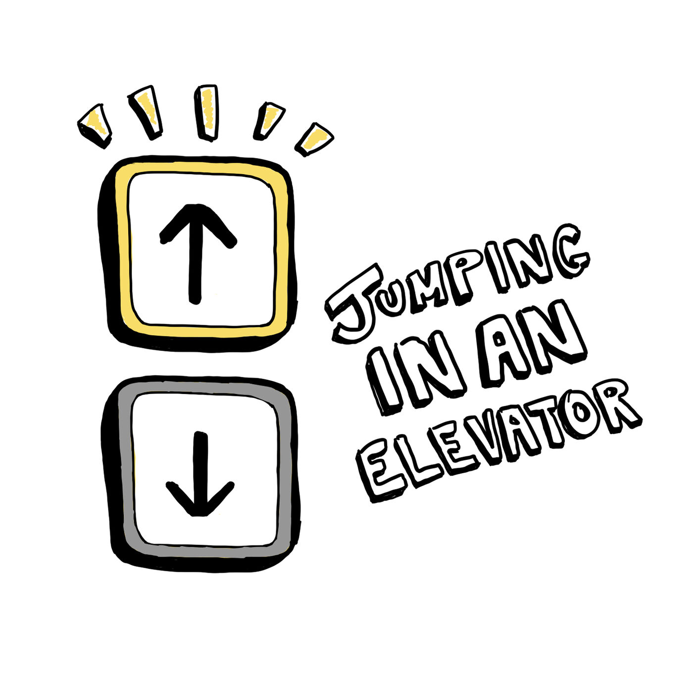 Jumping In An Elevator