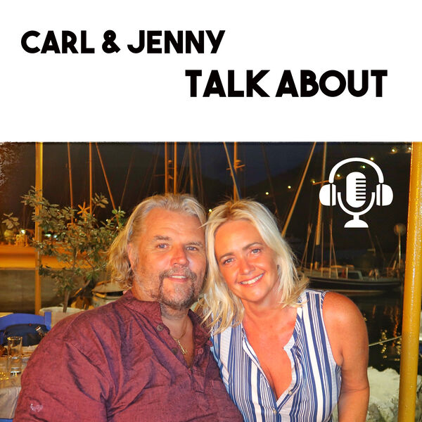 Carl and Jenny Talk About Podcast Artwork Image