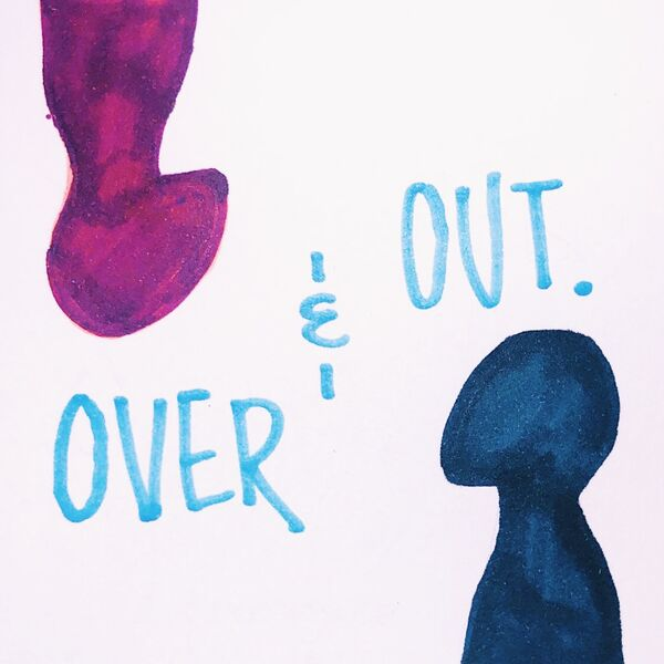 Over & Out Podcast Artwork Image