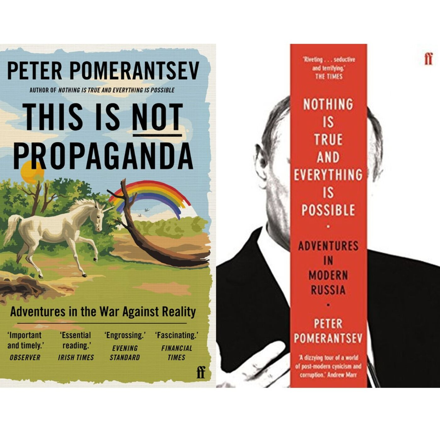 Peter Pomerantsev has stories to tell (and they are all true)