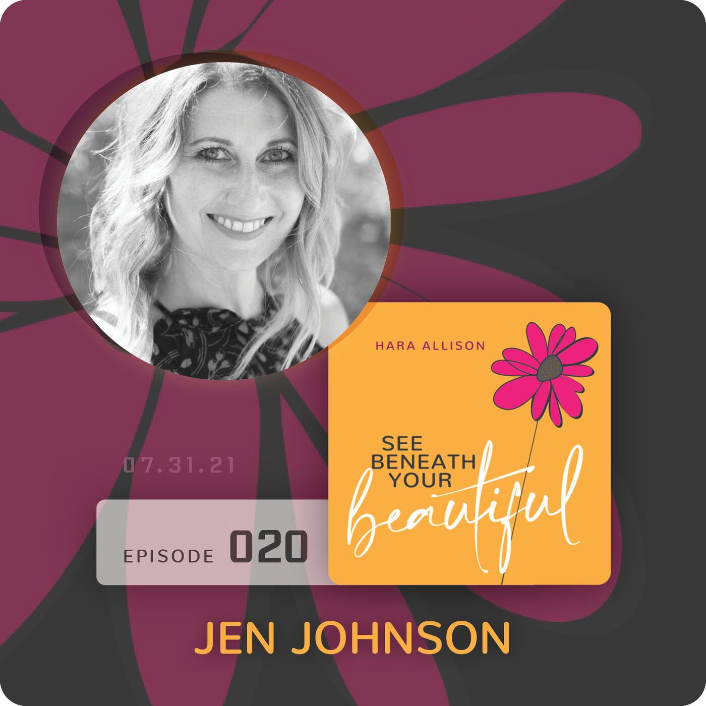 020. Jen Johnson discusses widowhood, mentoring, dating again, being an educator of love, raising two sons, surrendering to the universe and gifts in grief