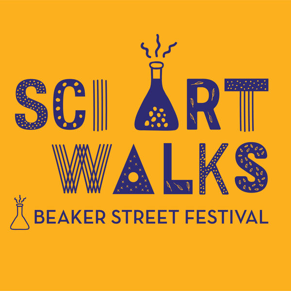 Sci Art Walks Podcast Artwork Image