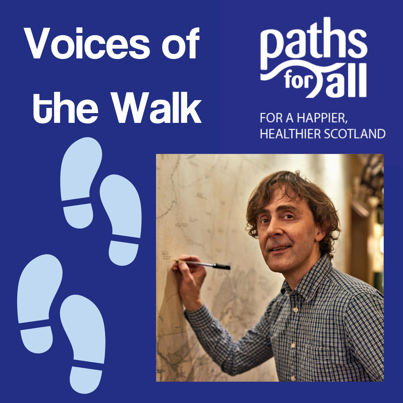 Alec Finlay: The art of going for a walk
