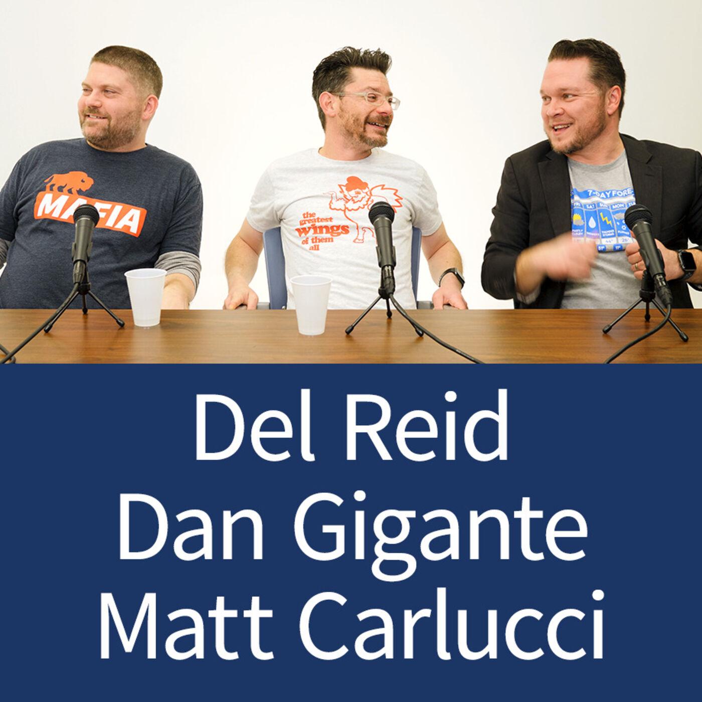 Del Reid, Dan Gigante, and Matt Carlucci - Founder Stories and Community - Episode 13