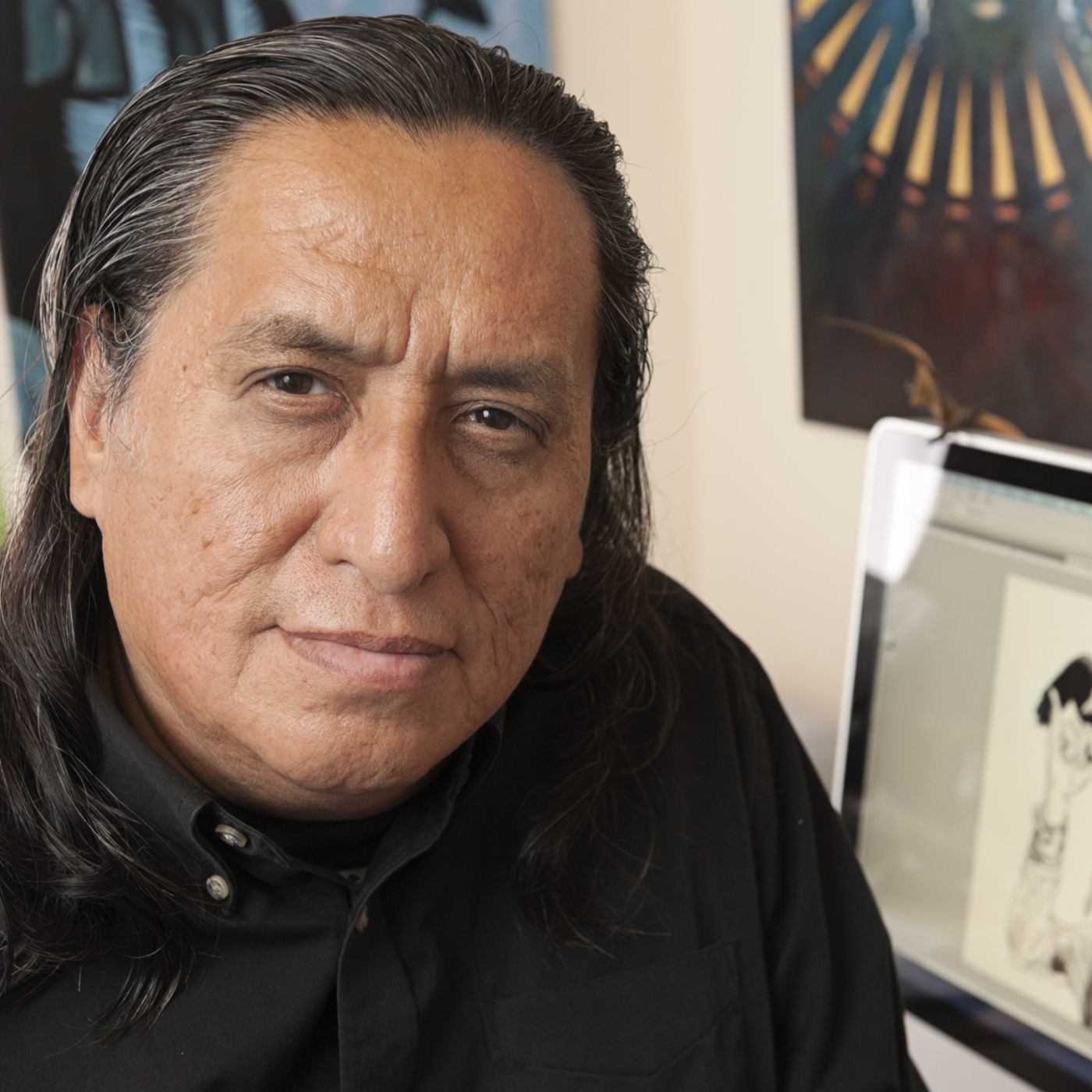 Flyover Folk Episode 12: Marty Two Bulls Sr. at The Intersection of Native Art and Politics