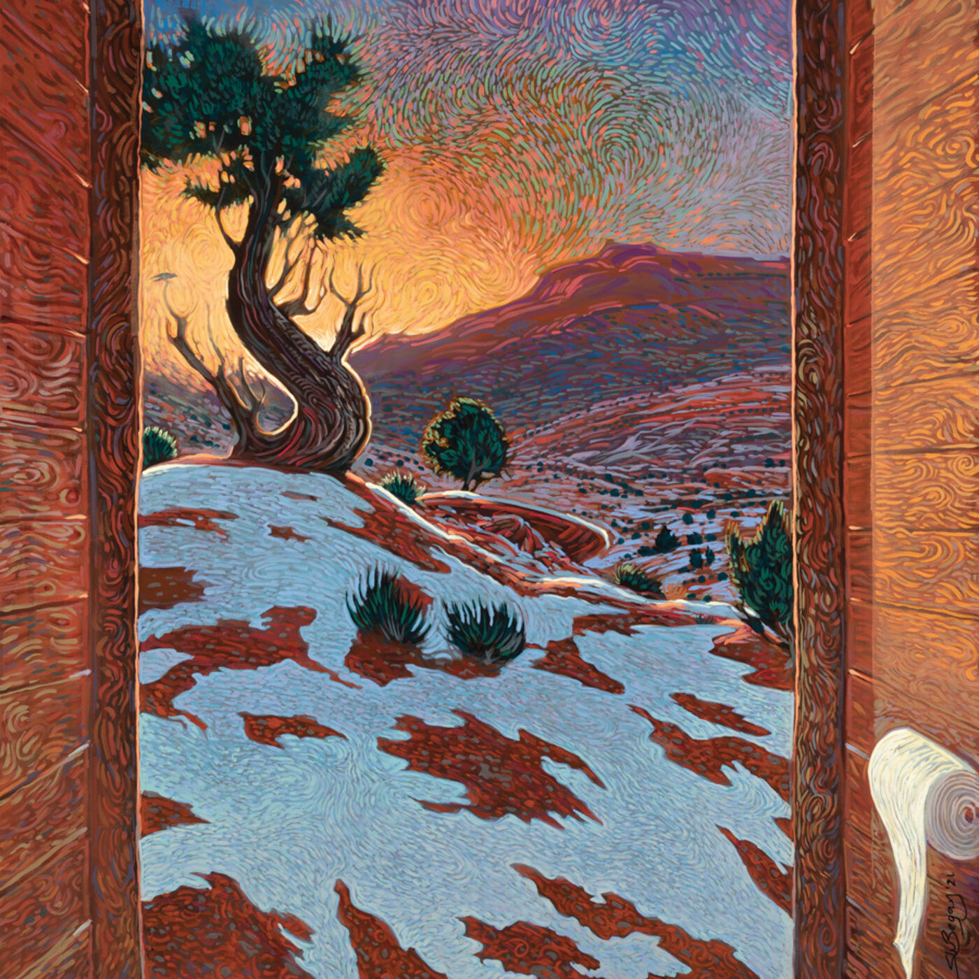 Shonto Begay: Navajo Artist, Educator, and Author - Epi. 148, Host Dr. Mark Sublette