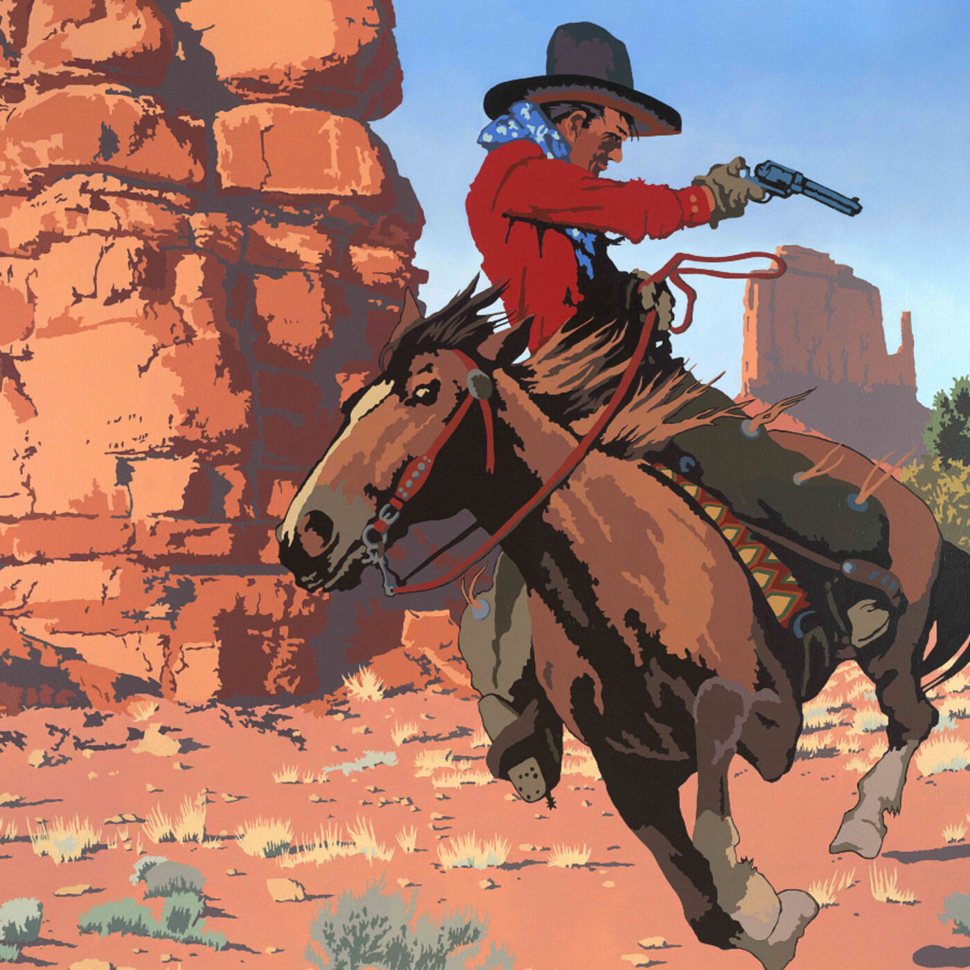 Billy Schenck: Pop Western Artist and New Paintings- Epi. 147, Host Dr. Mark Sublette