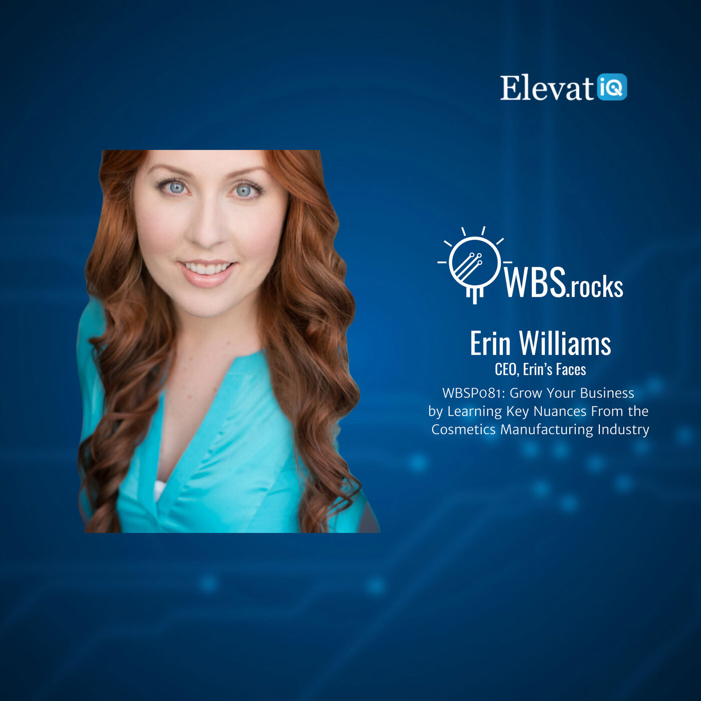 WBSP081: Grow Your Business by Learning Key Nuances From the Cosmetics Manufacturing Industry w/ Erin Williams