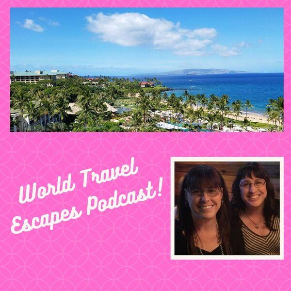 World Travel Escapes Podcast Artwork Image