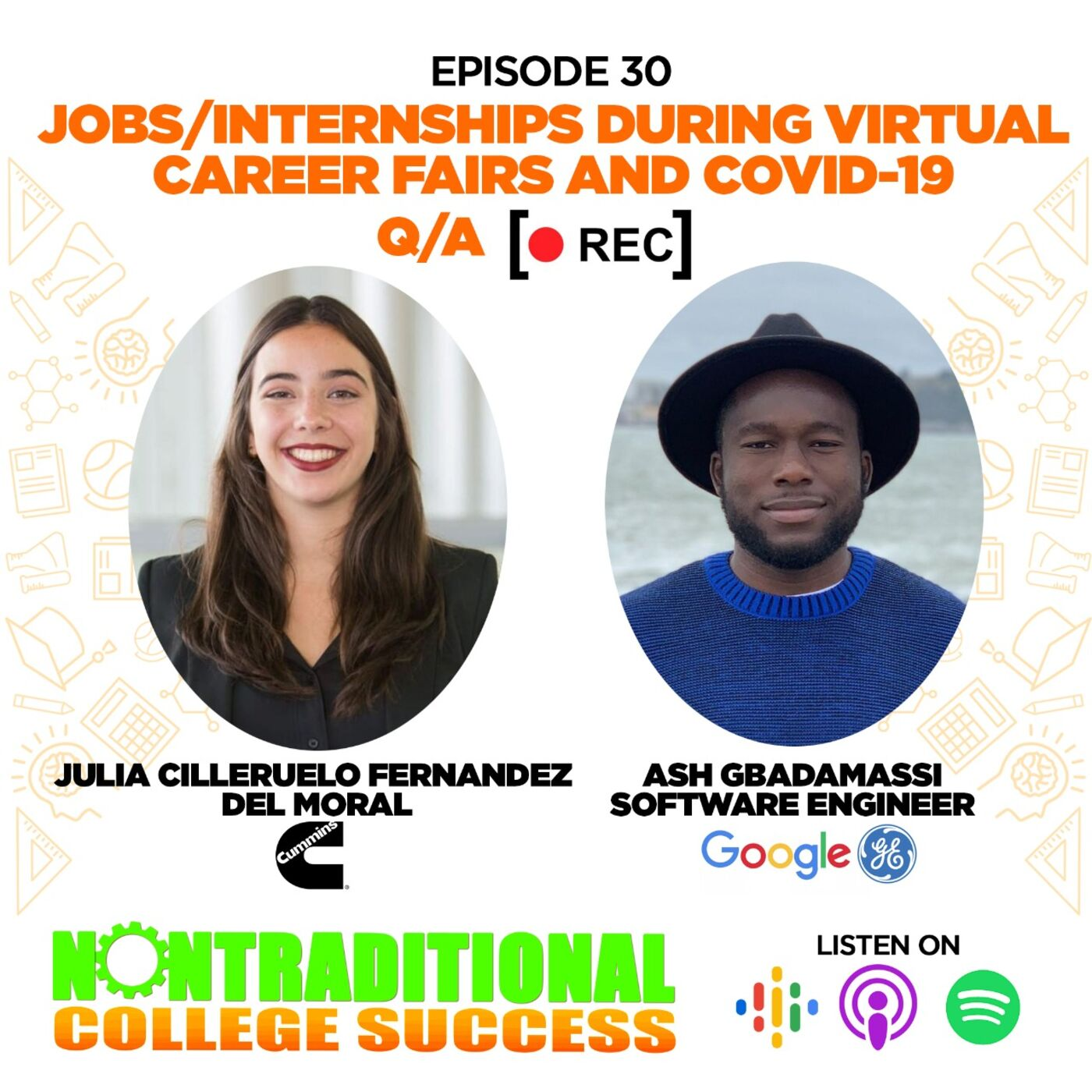 Virtual Career Fairs Q/A for International Students! with returning guests Julia and Ash. Ep. 30