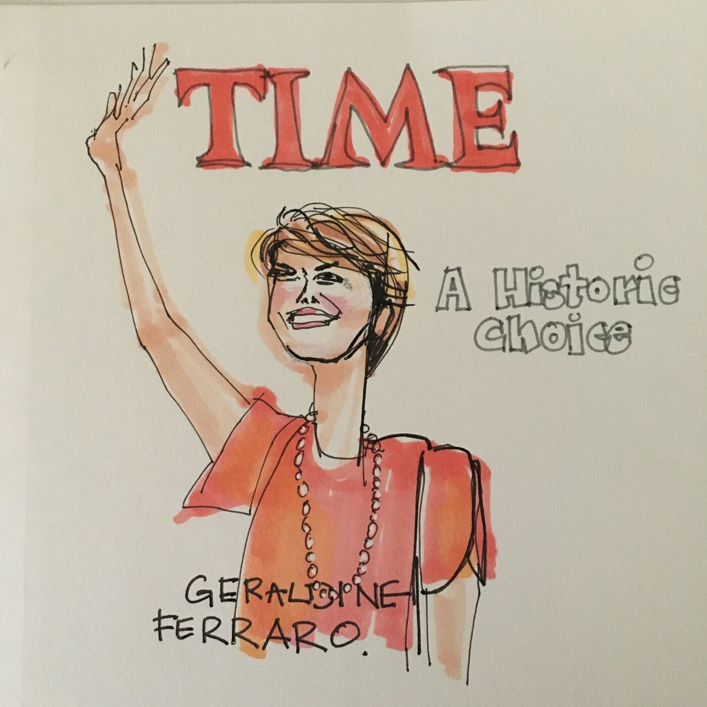 Geraldine Ferraro, Part One – Trailblazer for Kamala Harris.  An interview with Donna Zaccaro