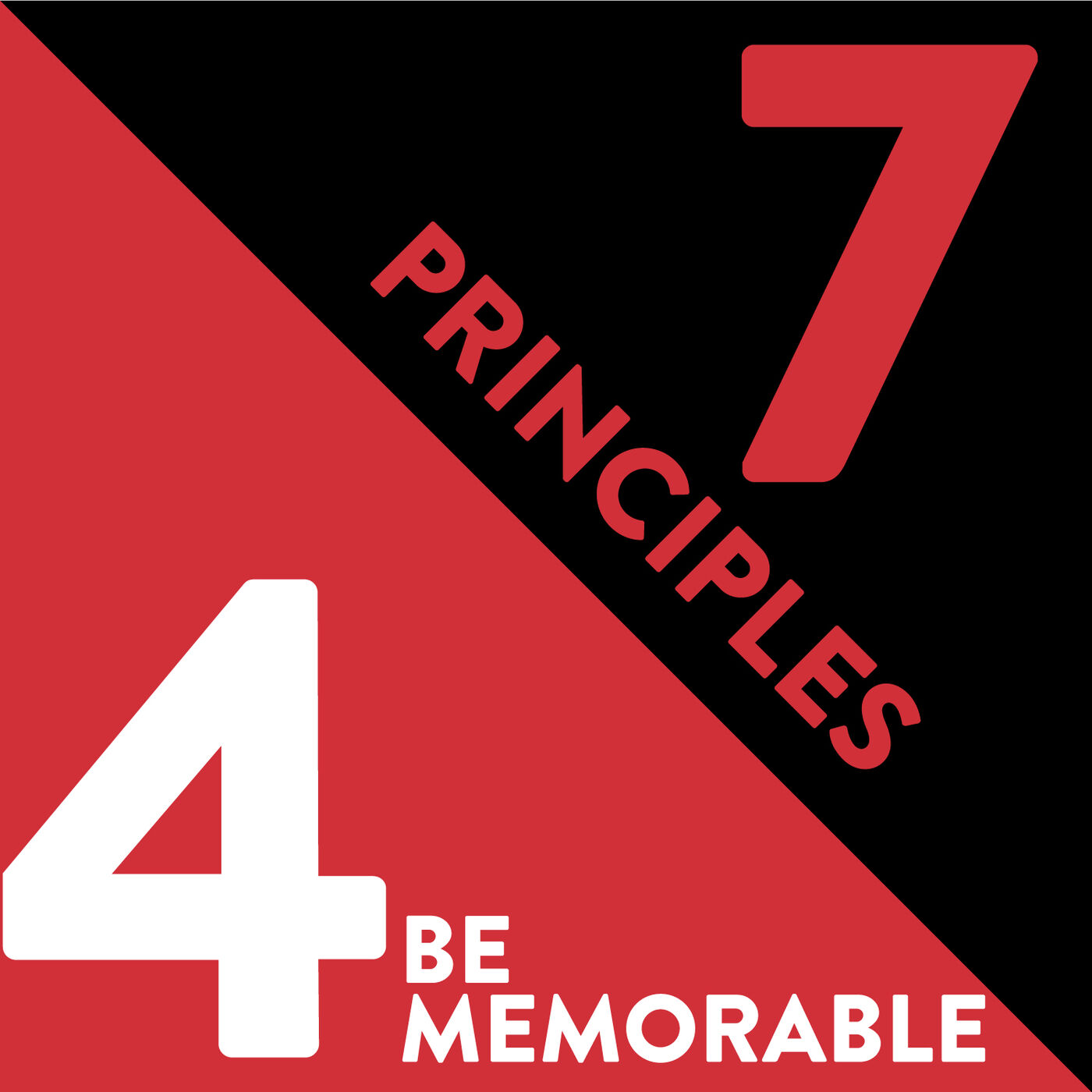 Be Memorable: The Fourth Principle of Relationship Management