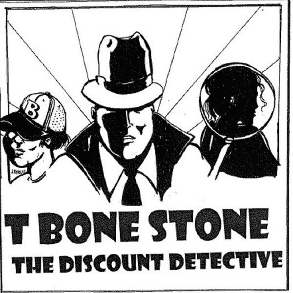 T Bone Stone The Discount Detective Podcast Artwork Image
