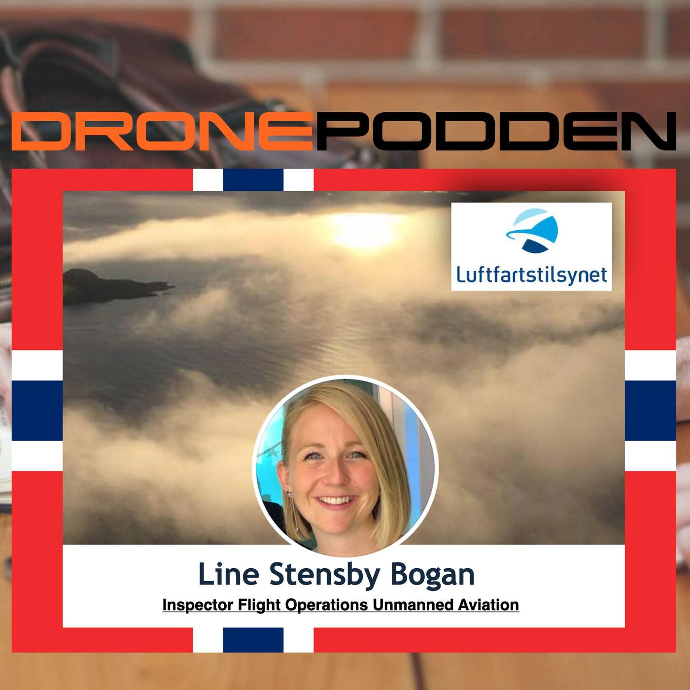 "Episode nr. 11 (Del I - Hobby/RO1) - Luftfarts Inspektør ""Flight Operations Unmanned Aviation"" Line Stensby Bogan fra LUFTFARTSTILSYNET ""besøker"" @DroneStig"